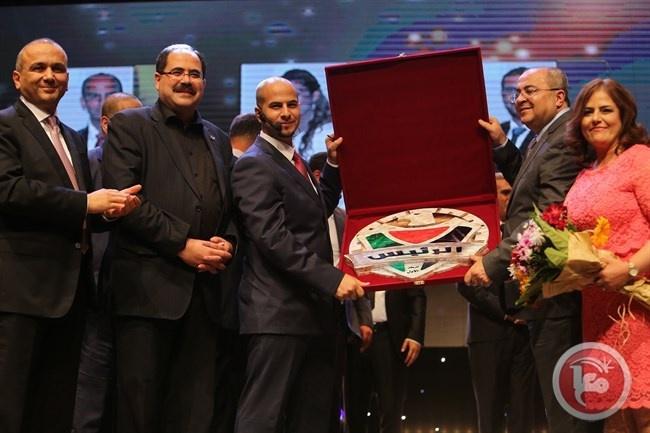 فوز وعد قنام بلقب الرئيس الشاب لفلسطين