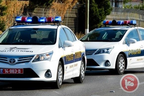 مطاردة سيارة مسروقه حاولت دهس شرطي وسط اسرائيل