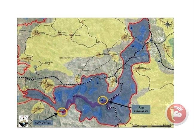 مخطط استيطاني لفصل شمال الضفة
