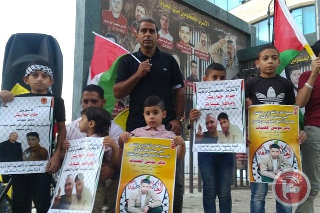 مسيرة في بيت لحم تضامناً مع الأسيرين المضربين جواريش والعبيات
