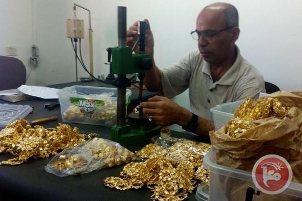 """""""الاقتصاد"""": مؤشر دمغ الذهب يسجل ارتفاعاً بنسبة 61.6% خلال الشهر الماضي"""