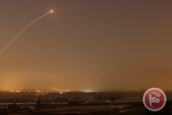 """اطلاق صاروخ من قطاع غزة على """"اشكول"""""""