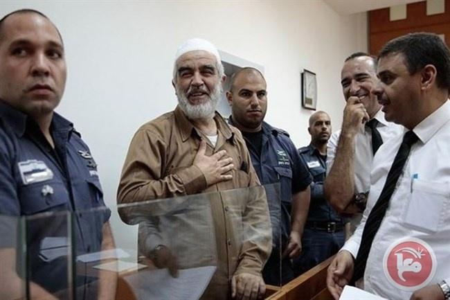 حماس: اعتقال الشيخ صلاح جريمة تهدف لتغييب المدافعين عن المسجد الأقصى