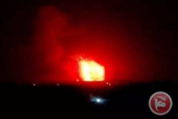 الدفاعات الجوية السورية تتصدى لأهداف معادية جنوب تدمر