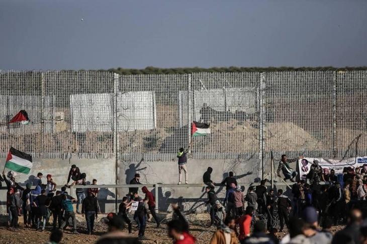 رفض وقف مسيرات العودة- نتائج اجتماع الوفد المصري بغزة