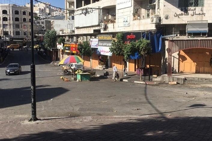 اندلاع مواجهات مع الاحتلال وسط الخليل