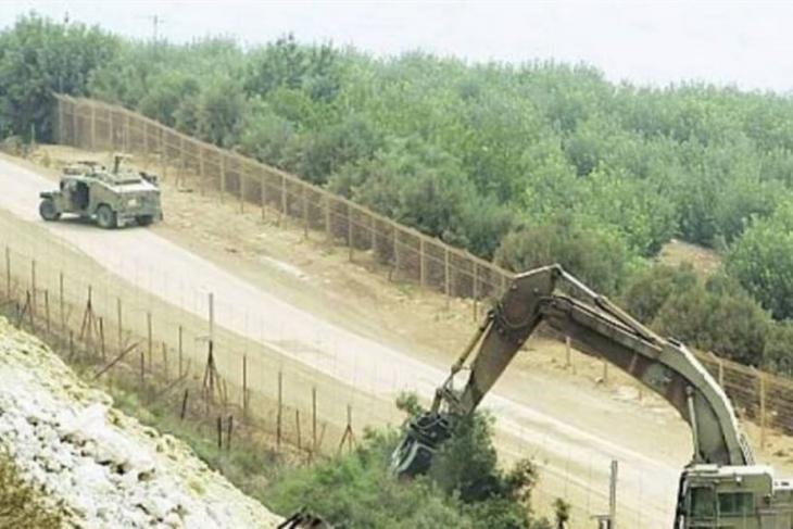 اسرائيل تستأنف أعمال الحفريات ورفع السواتر جنوب لبنان