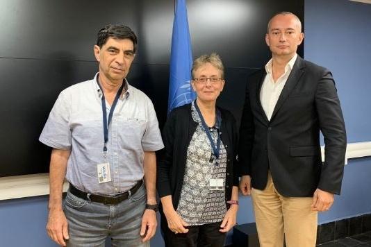 الامم المتحدة تطالب بحل قضية الاسير هدار جولدن