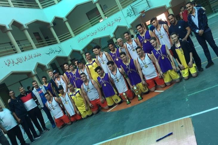 الثانوية الاسلامية تتربع على بطولة كرة السلة للمرحلة الثانوية