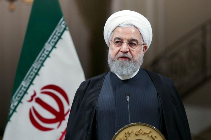 """روحاني يعلن البدء بضخ غاز اليورانيوم في مفاعل """"نطنز"""""""