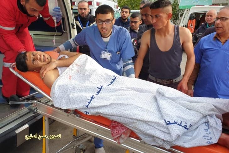 اصابتان- الاحتلال يطلق النار وقذيفة مدفعية شرق خانيونس (فيديو)