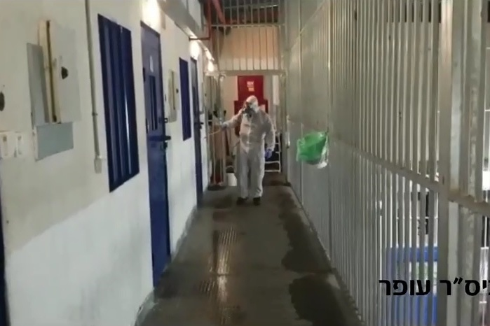 إصابة 33 أسيرا في سجن ريمون بكورونا