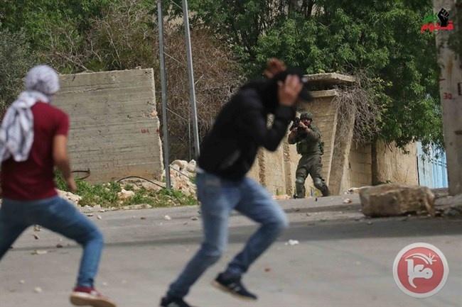 إصابات إثر قمع الاحتلال مسيرة منددة بمخطط الضم